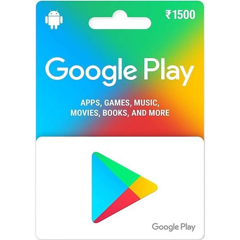 GooglePlay 1500