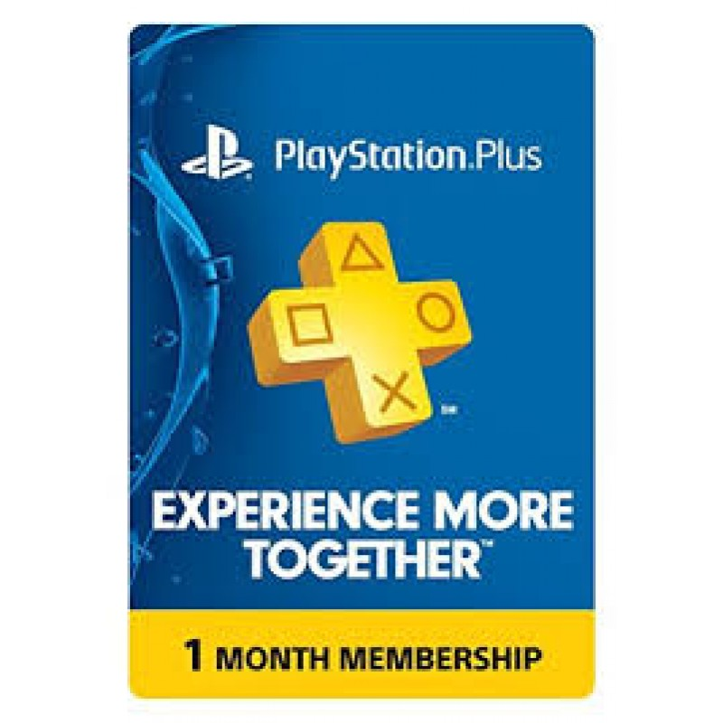 PSN Plus 1 Month Membership Card (INR Account)