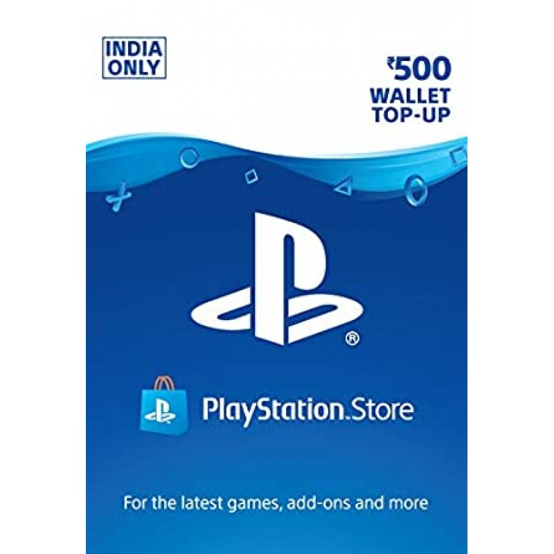 PSN Rs.500 Wallet Topup