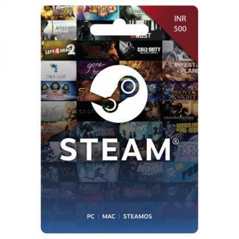 Steam Wallet 500