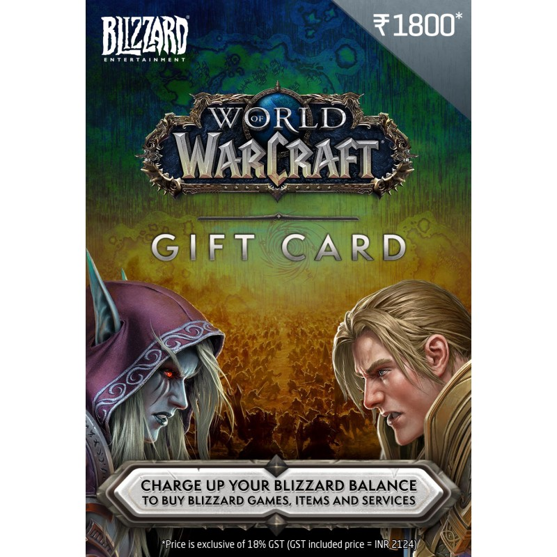 WOW $25 USD Gift Card
