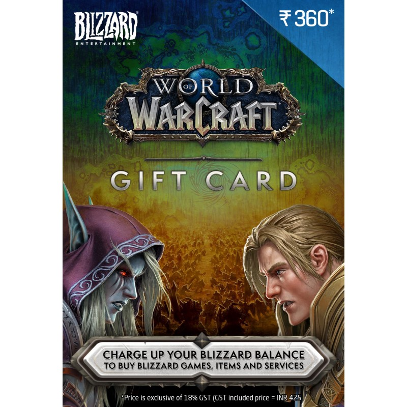WOW $5 USD Gift Card